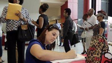 ABD'de işsizlik maaşı başvuruları Nisan'dan beri ilk kez ...