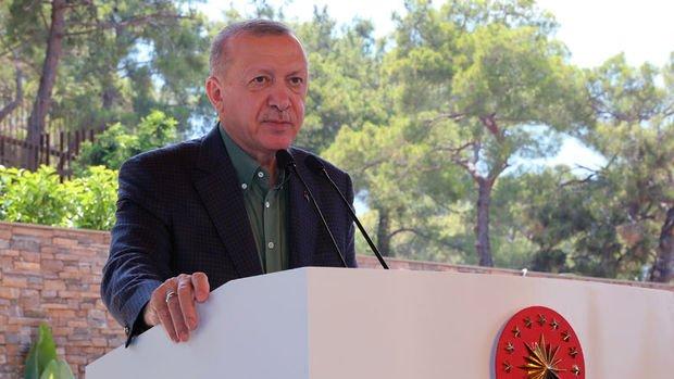 Cumhurbaşkanı Erdoğan: Turizmde KDV desteği konusunda müjde vereceğim