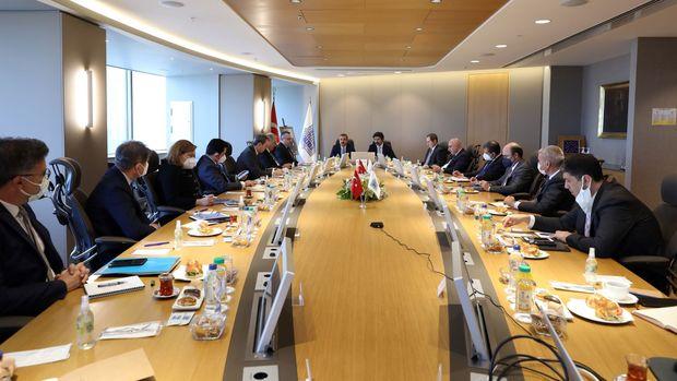 TCMB Başkanı Kavcıoğlu bankacılarla buluştu