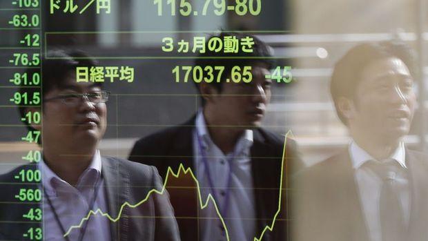 Asya borsaları yükseliş kaydetti, Çin'de imalat aktivitesi yavaşladı