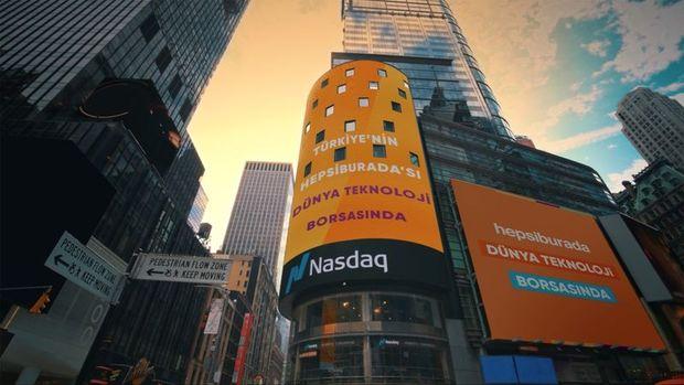 Hepsiburada, dünya teknoloji borsası  NASDAQ'ta halka arz edilen ilk Türk şirketi