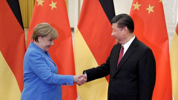 Çin Devlet Başkanı Şi, Merkel ve Macron ile görüşecek
