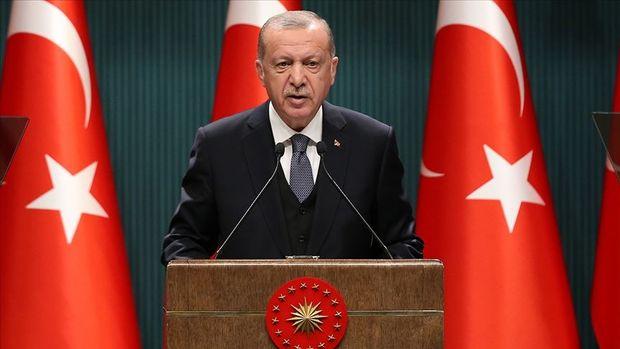 Erdoğan: Göstergeler 2. çeyrek için yüzde 20 civarı büyümeye işaret ediyor