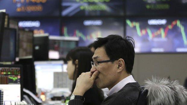 Asya borsaları çoğunlukla geriledi