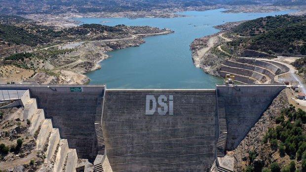 Adnan Menderes Barajında su seviyesi yüzde 19'a geriledi
