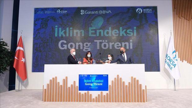 Borsa İstanbul'da, Garanti BBVA İklim Endeksi hayata geçirildi