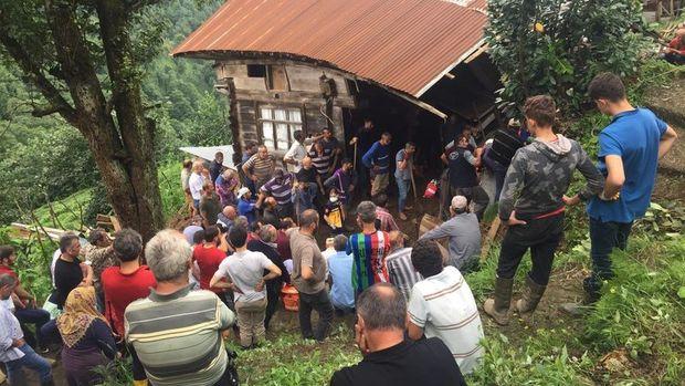 Rize'deki sel felaketinde hayatını kaybedenlerin sayısı 6'ya yükseldi