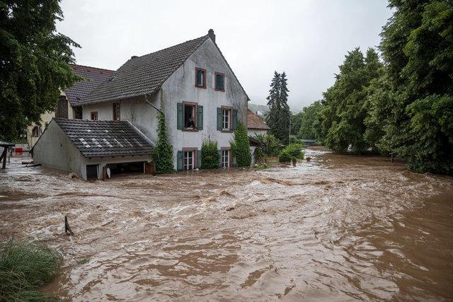 Almanya'da sel felaketi