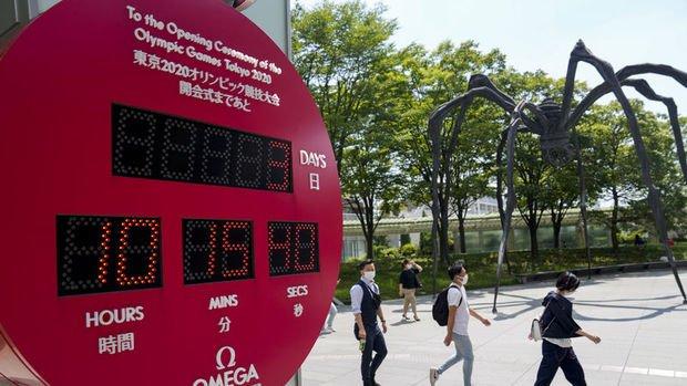 Japonya'da halkın yüzde 87'si Tokyo Olimpiyatları'ndan endişe ediyor