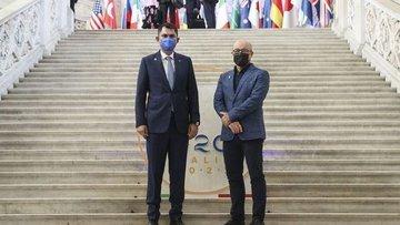"""Bakan Kurum, G20'de """"İklim Dirençli Şehirler"""" için bütünl..."""
