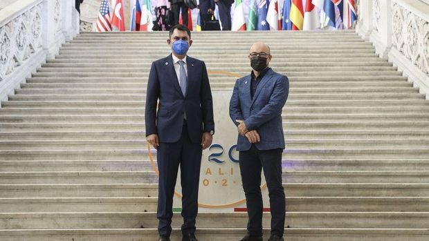 Bakan Kurum, G20'de