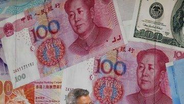 Yuan Nisan'dan beri en düşük seviyeye indi