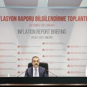MERKEZ BANKASI 2021 ENFLASYON TAHMİNİNİ YÜKSELTTİ