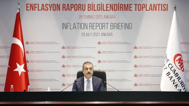 Merkez Bankası 2021 enflasyon tahminini yükseltti