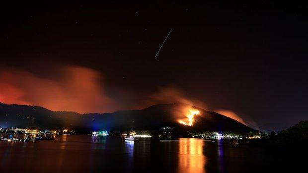 Türkiye'deki yangınlarda söndürme çalışmaları sürüyor: 63 yangının 42'si kontrol altında