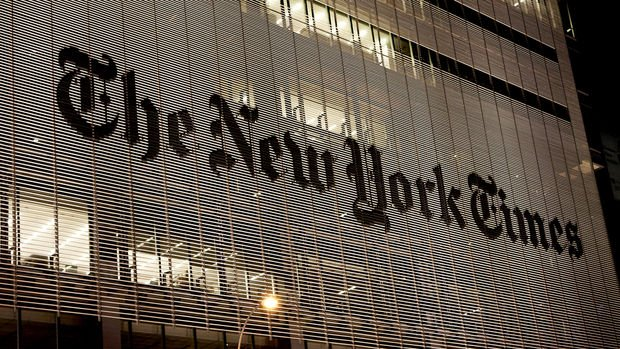 New York Times'ın ikinci çeyrek geliri 500 milyon dolara dayandı