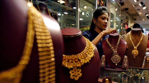 Hindistan'ın altın ithalatı Nisan'dan beri en yüksek seviyede