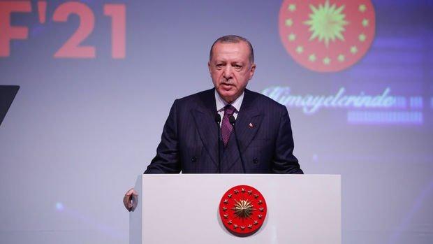 Erdoğan: Savunma ve havacılık ihracatımız 3 milyar dolar sınırını geride bıraktı