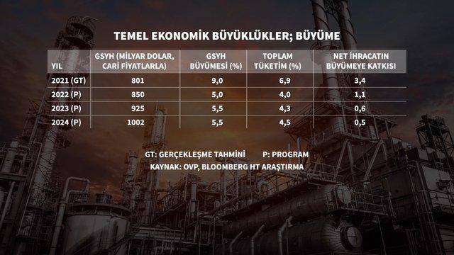 12 grafikte ekonominin 3 yıllık yol haritası