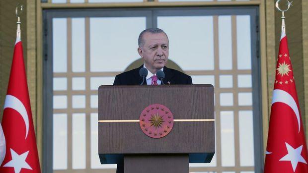 Cumhurbaşkanı Erdoğan'dan enflasyonla mücadele açıklaması