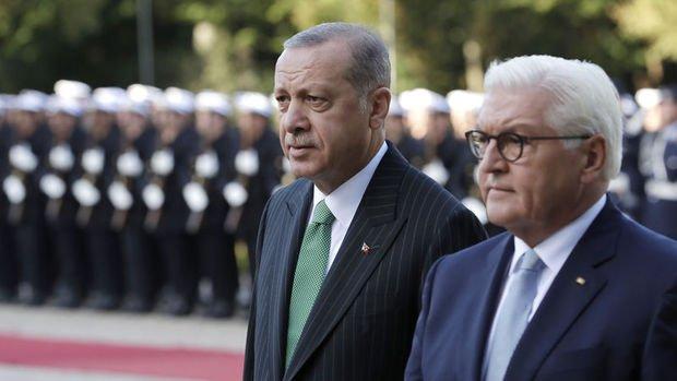 Cumhurbaşkanı Erdoğan, Almanya Cumhurbaşkanı Steinmeier ile telefonda görüştü