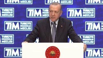 Cumhurbaşkanı Erdoğan, Türkiye İhracatçılar Meclisi'nde k...