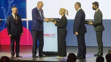 Bloomberg HT New York Temsilcisi Ayan'a başarı ödülü
