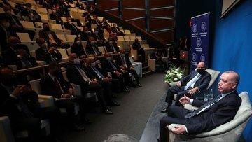 Cumhurbaşkanı Erdoğan, ABD iş dünyası temsilcileriyle bir...