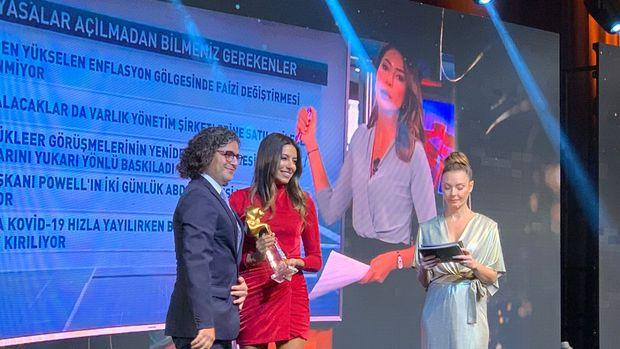 Bloomberg HT'ye Altın Objektif Ödülü
