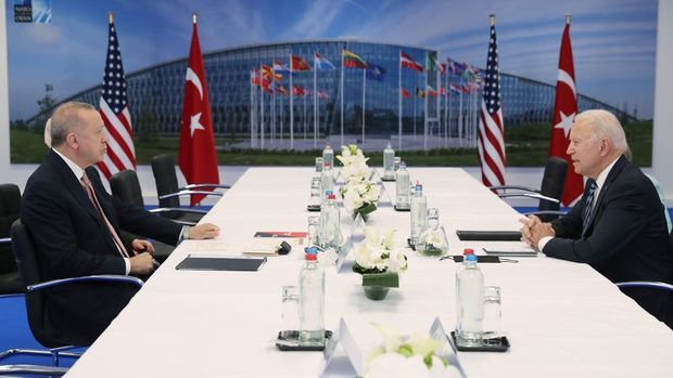 Cumhurbaşkanı Erdoğan, Biden ile görüşecek