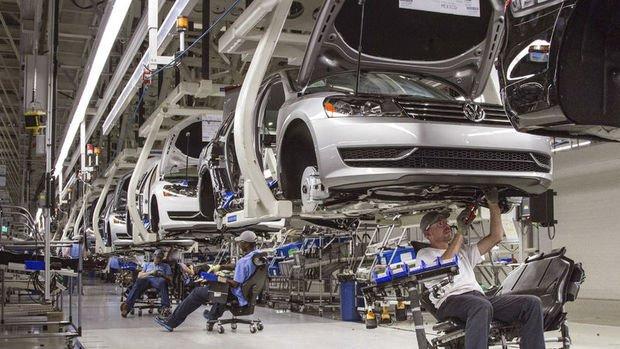 Almanya sanayi üretiminde 16 ayın en büyük düşüşü