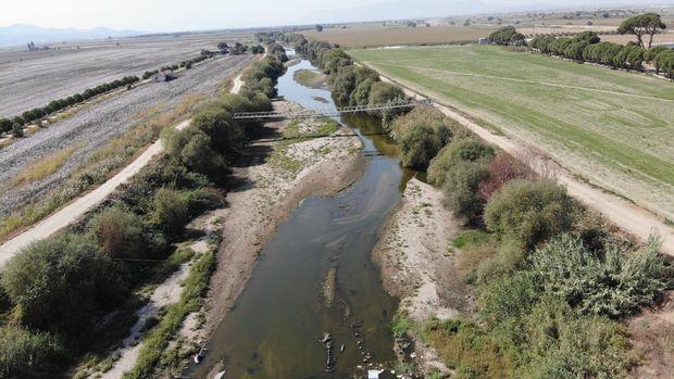 Kuraklık, Büyük Menderes Nehrini kuruttu