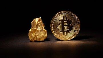 Bitcoin'in değeri 1 kilo altını geçti