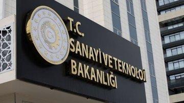 Sanayi ve Teknoloji Bakanlığı Eylül'de 852 yatırım teşvik...
