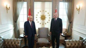Cumhurbaşkanı Erdoğan, Devlet Bahçeli ile görüşecek