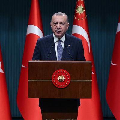 Erdoğan: Ülkemize dönük bühtandan geri dönüldü