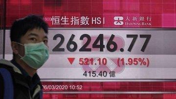 Asya borsaları Çin'den gelen güçlü veriye rağmen geriledi