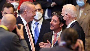 Erdoğan: Biden ile büyük ihtimalle Roma'da değil Glasgow'...
